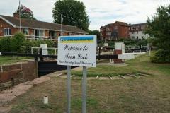 Avon Lock - Tewkesbury